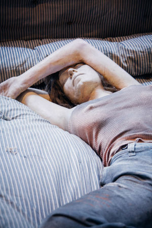 Art ArtWork Bed Human Representation Kunsten Kurt Trampedach Laziness Lying Down Manequin Relaxation Sleeping