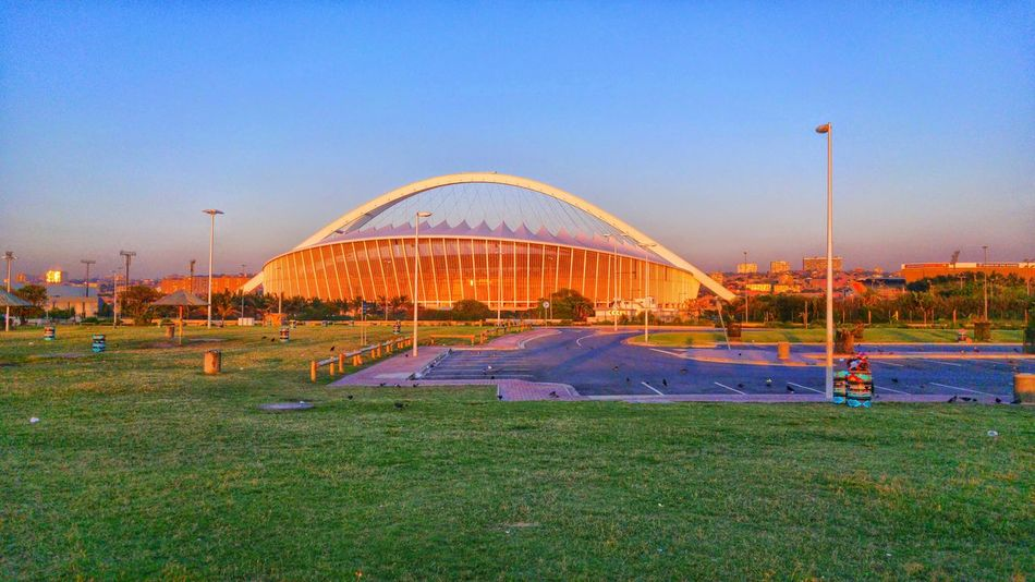 Seeing The Sights Durban South Africa Moses Mabhida Stadium