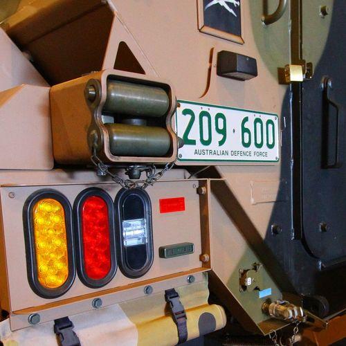 RIMPAC Australia License Plate Australian Defence Force Vehicle Military Military Life Hmas Canberra