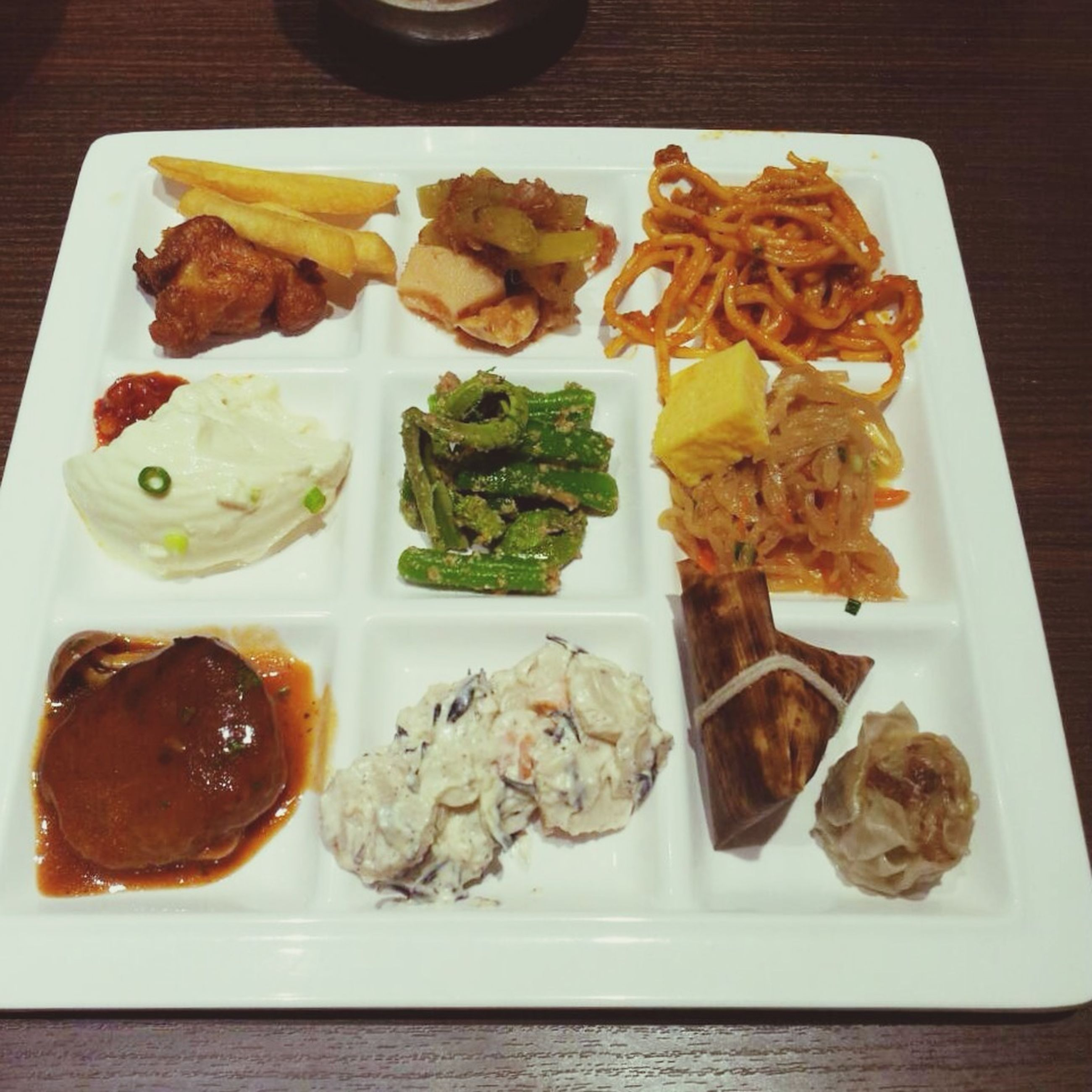 food and drink, food, ready-to-eat, freshness, indoors, plate, still life, meal, serving size, healthy eating, table, meat, high angle view, served, directly above, close-up, sauce, indulgence, appetizer, lunch
