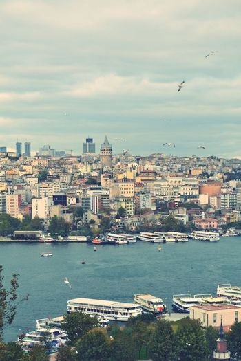 🌹 Istanbul Architecture Building Exterior Built Structure City Cityscape Nautical Vessel Water first eyeem photo
