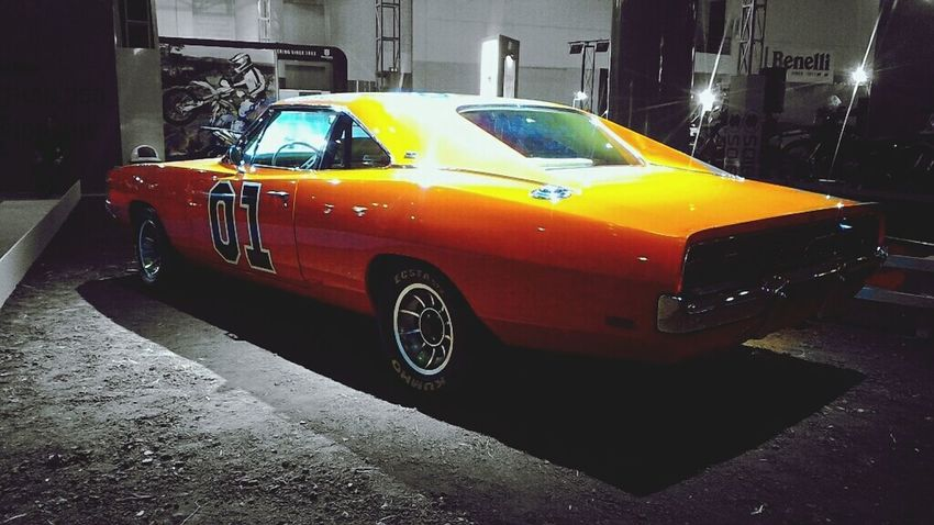 One of the most iconic car, General Lee! Well, it has the most annoying horn ever. Lol.. Dodge Charger Generallee