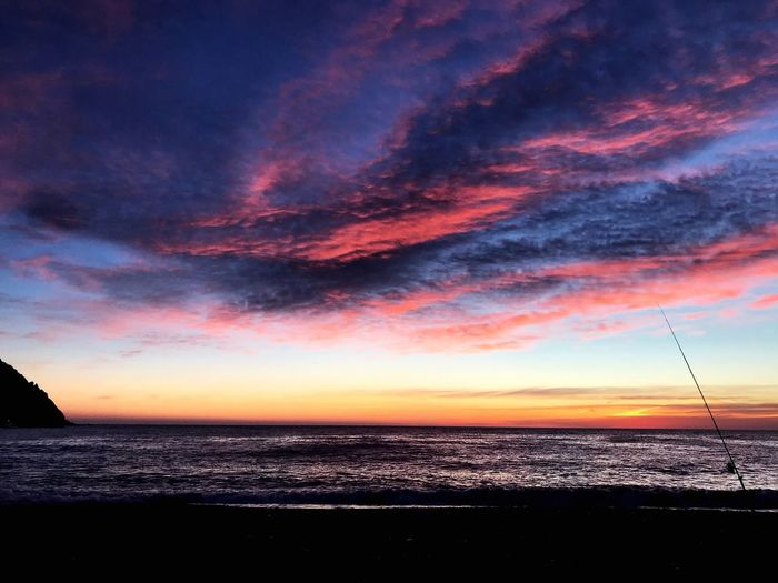 Sea and sky Sky