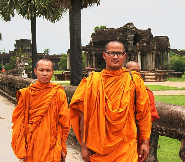 Two People Only Men Portrait Religion Adults Only Outdoors Adult Eyeglasses  People Togetherness Day Buddhism Buddhist Temple Monks EyeEmNewHere EyeEmNewHere Let's Go. Together.