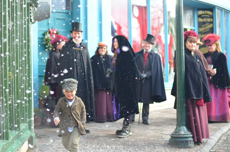 Bliz Hill Christmas Snow Scean Friendship Lifestyles Tiny Tim's Christmas Togetherness Victorian Victorian Christmas Victorian Times Victorianstyle Vintage The Street Photographer - 2017 EyeEm Awards