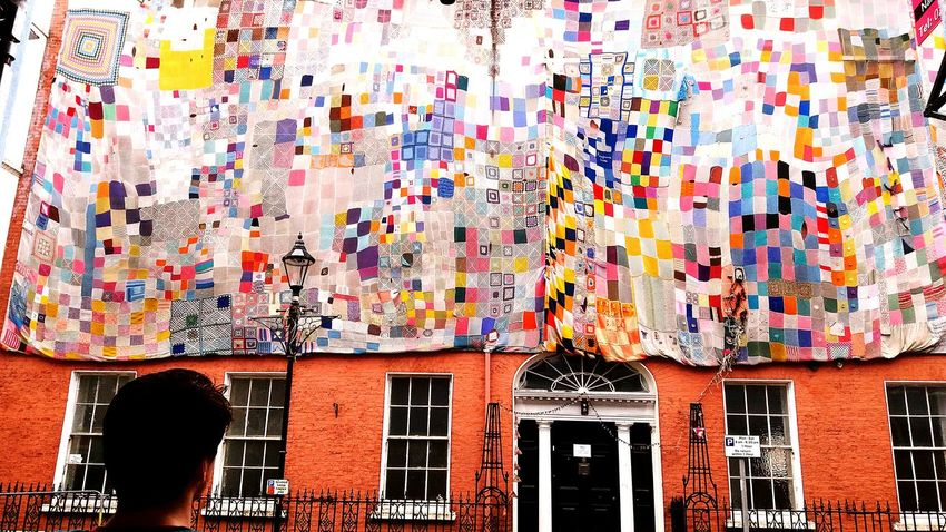 Out Walking Ireland🍀 Londonderry Crochet Projects Giant Work Of Art Colourful Crochet Blanket Community Project Beauitful Bright Colors Bright_and_bold Wow!! Old School Street Art People Urban Exploration Fine Art Ireland The Innovator People And Places Love Is Love The Still Life Photographer - 2018 EyeEm Awards