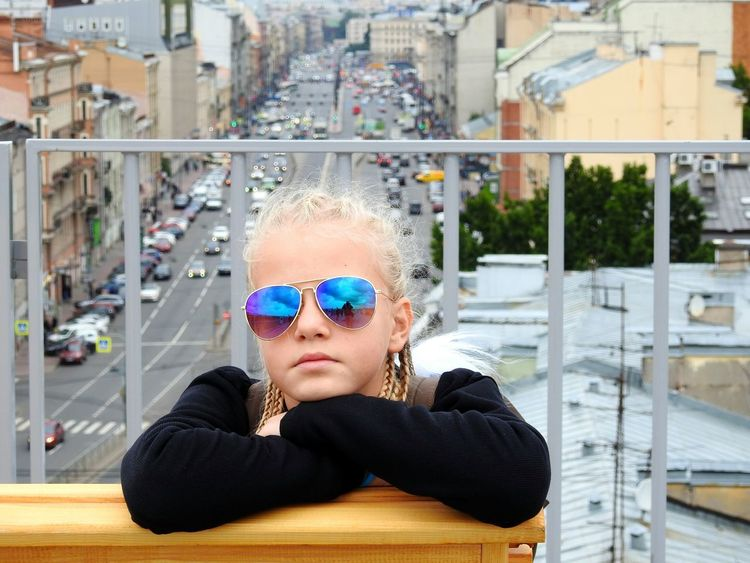My Model ✌ The Week On EyeEm EyeEmNewHere Mix Yourself A Good Time Investing In Quality Of Life Angelina Daughter Sunglasses Blonde ♡ On Roof Big City Life Relaxing Loft Colors Of Sankt-Peterburg Sankt-Petersburg Russia