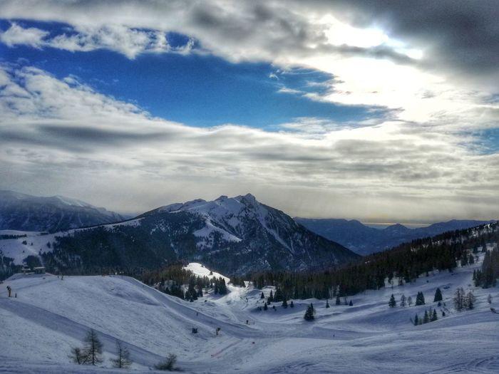 See Passo Brocon Snow Cold Temperature Mountain Winter Cloud - Sky Landscape Tree Scenics Tranquil Scene Nature Pine Tree