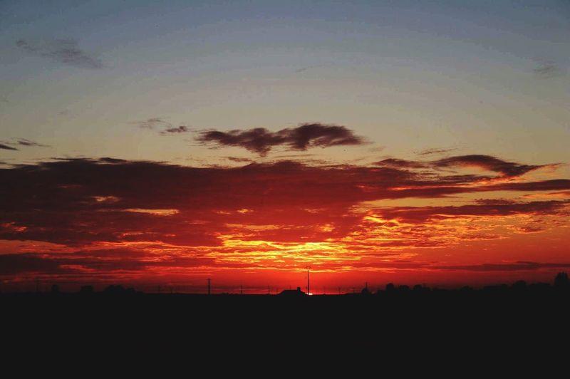 Sundown Canon Beauty In Nature Nature First Eyeem Photo