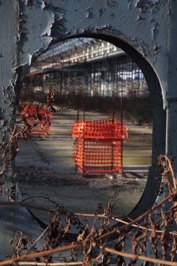 Building Factory Observing Repairs Ruins Urban Archeology Window Windows Working