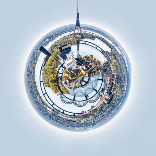 Little planet 360 degree sphere. Panoramic view of Riga city. Latvia 3 Dimensional 360 Degree Altered Image City Cityscape Latvia Old Town Panorama Panoramic Skyline Sphere TOWNSCAPE TV Tower Architecture Around Digitally Generated Image Landscape Planet Planet Earth Riga Three Dimensional Three Dimentional Photography Urban Landscape Urban Skyline World
