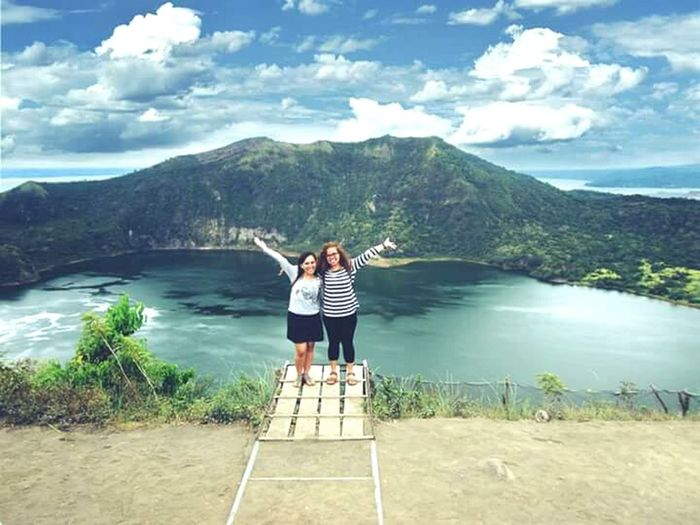 Life is beautiful Friend Eyeem Philippines - Taal Volcano crater, Feb 2015
