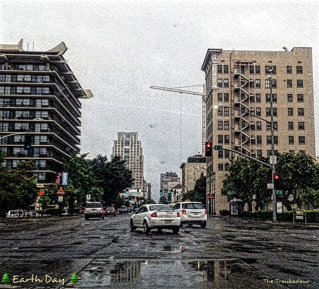 "Up Close Street Photography ""It's raining again!🎸Another pic of my rainy day, here in Sacramento ☔ The Architect - 2016 EyeEm Awards Rainy Days☔ Best Eyeem Edits not my First Eyeem Photo Snapshots Of Life Eyeemphotography EyeEm Gallery No Need To Escape, Im In Wonderland! Telling Stories Differently Rainporn Week On Eyeem From My Point Of View Eye4photography  Through My Eyes Water Reflections EyeEm Best Shots Overcast Eyem Gallery Photo Of The Day in Sacramento, California"