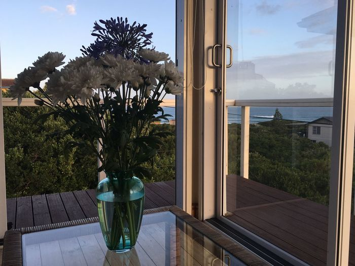 Retreat Relax Western Cape South Africa Western Cape South Africa J-Bay Jeffreys Bay Airbnblife AirBnB Summer Holidays Enjoying Life Holidays Holiday Summer Window Luxury Water Home Interior Table Indoors  Home Showcase Interior No People Sea Day Nature Vase Sky Modern Luxury Hotel Sliding Door