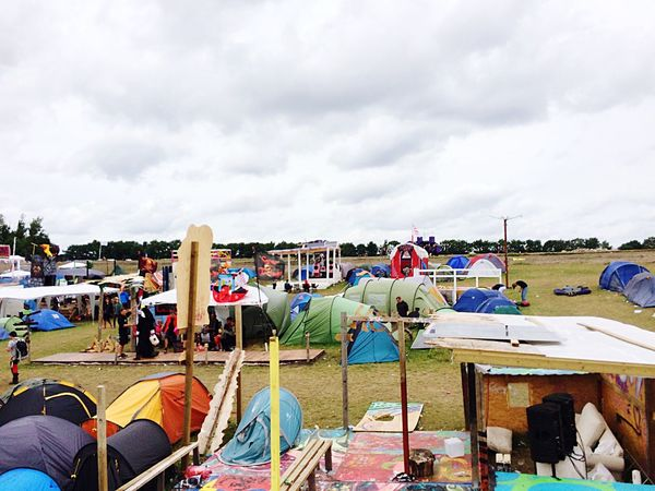 Campinglife Cloudy Roskilde Festival Camping Multi Colored Cloud - Sky