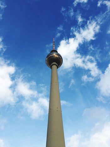 So Blue So Big Berlin TV Tower