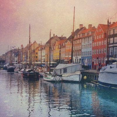 Nyhavn EyeEm Best Shots Edited Water Reflections Docks