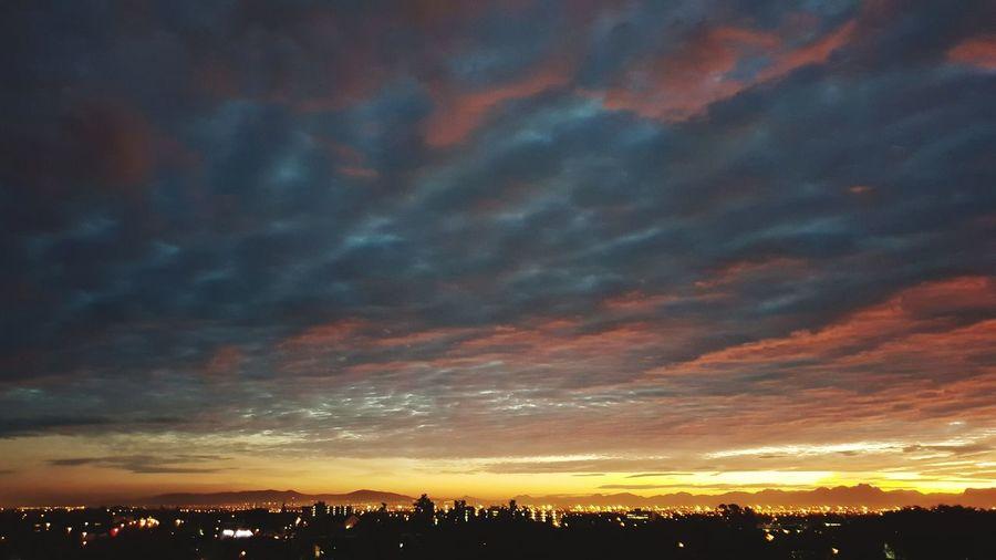 Sunrise Today Multi Colored Illuminated Dramatic Sky Sky Landscape Moody Sky Romantic Sky Silhouette