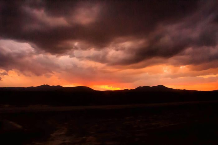 Mountain Dramatic Sky Landscape Nature Sunset Scenics Beauty In Nature Tranquility Sky Nature Photoofheday Dramatic Sky Nature Photography Monterrey N.L. Naturelovers Cloudscape Clouds, Nature, My View Naturelover No People Outdoors Power In Nature Night