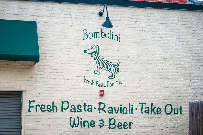 Richmond, VA USA Street Art Bombolini Dachshund Restaurant Richmond, VA Street Art Street Art/Graffiti Street Artist VCU VCU Artists Weiner Dog