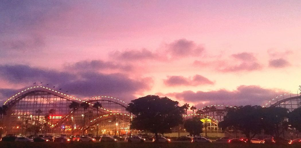 Belmont Park Rollercoaster San Diego Sunset Mission Beach San Diego What I Like!!! Things I Like : Riding the old wooden rollercoaster at Mision Beach, anytime of the day, however Sunset or later during the Summer is a lot of fun! Thingsilike