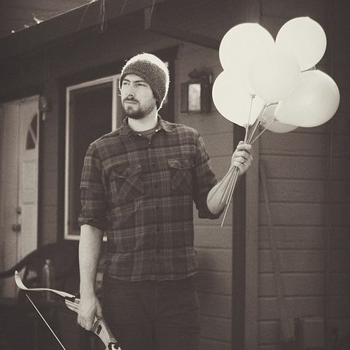 Bows and balloons Mountainman Birthday Latergram Handsomehusband Vscocam