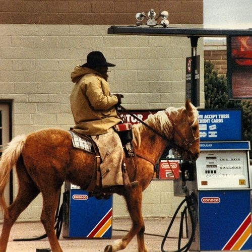 This guy rode into town every day and stopped at this gas station to water the horse. He drank straight from the that was left conveniently for them. Trailblazers_rurex Ig_ruralamerica Ig_republic Ipulledoverforthis heyfred_lookatthis royalsnappingartists rsa_rural rsa_people