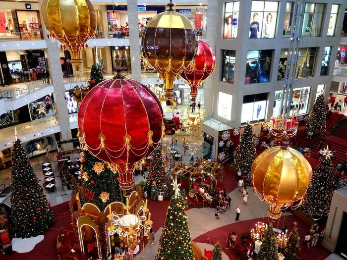Merry Christmas!!! Holiday Christmas Decoration Christmas Tree Celebration View From The Top Christmas Decoration Christmas Indoors  Celebration Retail  Hanging Store