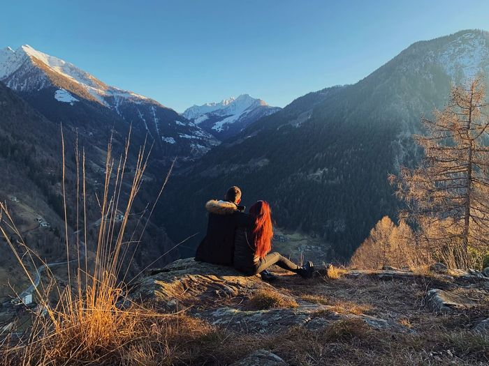 Mountain and love