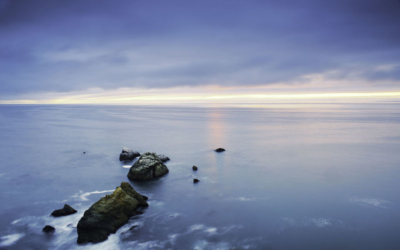 Close-up Headland Nature Ocean Ocean View Rock Formation Rock Formations Sky Sunset