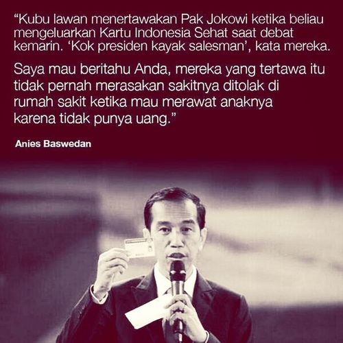 Hello World Check This Out Inspirational Quote Jokowimypresident