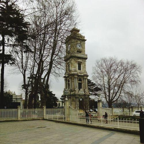 Clock Tower Clocktower Istanbul Turkey Istanbul City Autumn Time Old