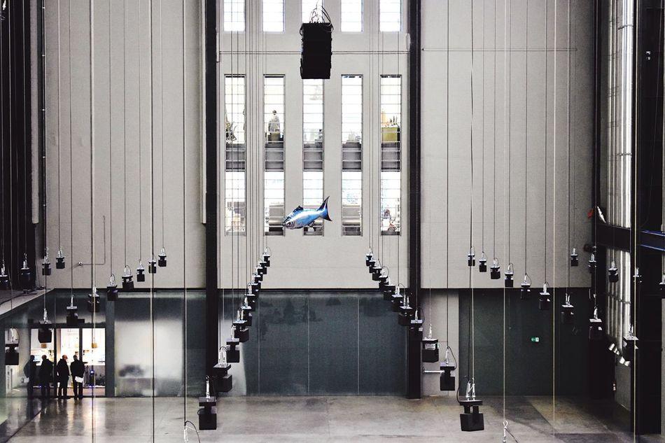 Modern Architecture TheWeekOnEyeEM Helium Balloon Fish TateModern Turbine Hall