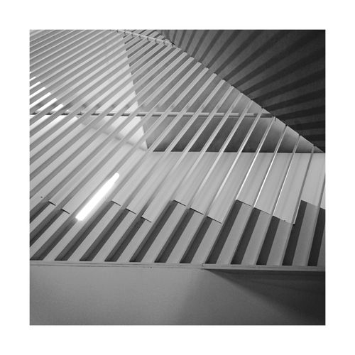 BYOPaper! No People Experimental Structure Stairs Architecture Architectural Feature Urbanphotography Simplicity Lines Indoors  Stuttgartmobilephotographers Blackandwhite Black And White Bw_collection Bw_lover BW_photography Bw Blackandwhite Photography BuildingBuilt Structure The Architect - 2017 EyeEm Awards Photo Building Interior Light And Shadow
