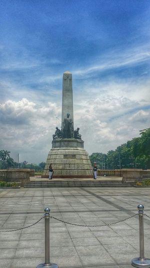 Manila. RizalPark Manila Baywalkmanila