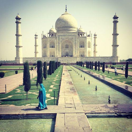 Hello World India Tagmahal Follow Me I'll Follow Back