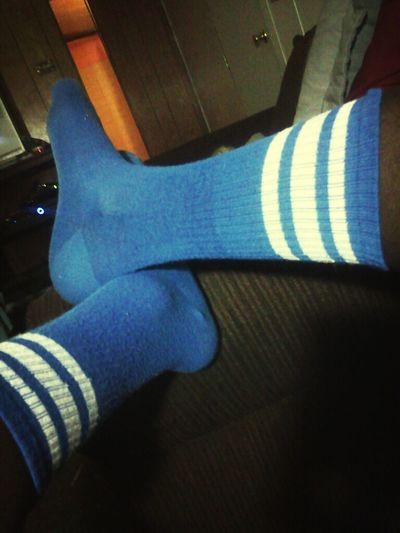 Blue Tube Socks ;D