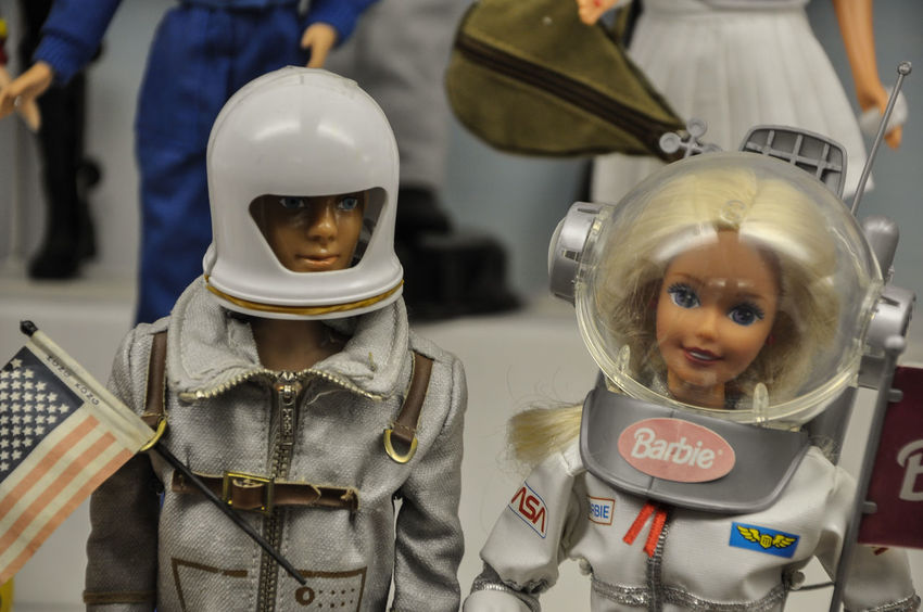 America American American Dream American Flag Astronaut Astronauts  Barbie Dolls Flag Helmet Lifestyles Spacesuit Culture Pop Culture American Culture