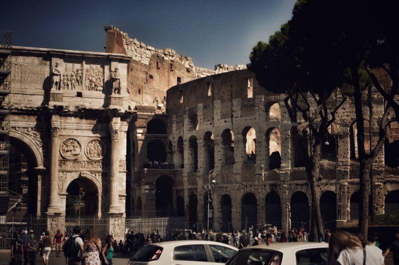 Rome The Colosseum, Rome History Art Beauty Day Sun