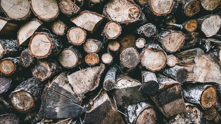 Abundance Backgrounds Close-up Day Deforestation Environmental Issues Firewood Forestry Industry Fossil Fuel Fuel And Power Generation Full Frame Heap Large Group Of Objects Log Lumber Industry No People Repetition Shape Stack Textured  Timber Wood Wood - Material Woodpile