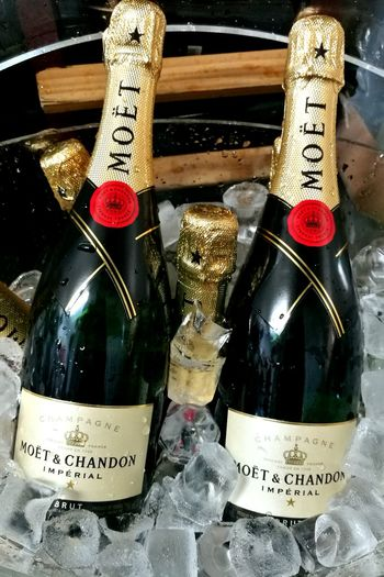MoetChampagne Ice Cool Bucket Ice Bucket New Years Eve 2016 Tasty Booze Pub Cellar Celebration Bottles Of Alcoholic Drinks Cork