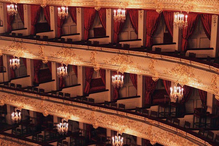 The Architect - 2017 EyeEm Awards Architecture Built Structure Illuminated Indoors  Travel Destinations Theatre Balcony Historical Building Historic Elégance