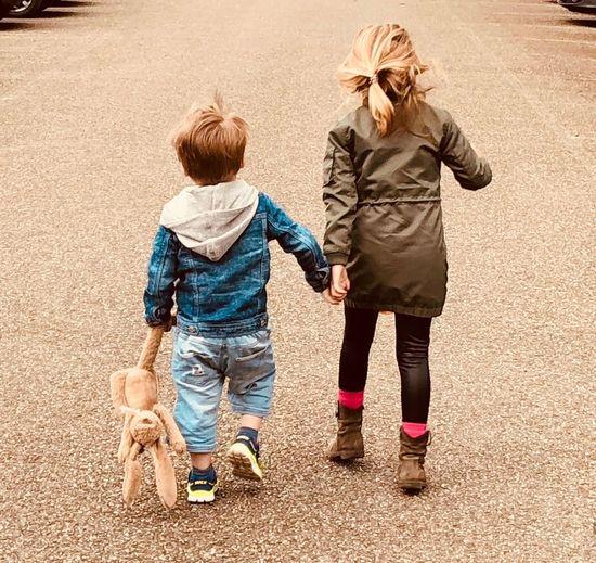Childhood Child Full Length Family Offspring Women Females