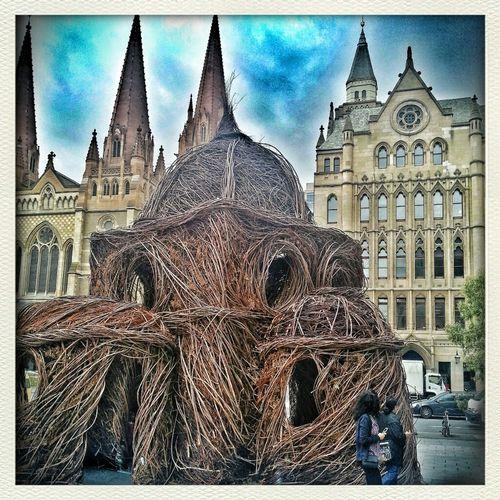 Sculpture @ Federation Square...