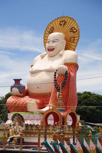 Budai the Chinese Buddha of Koh Samui Thailand
