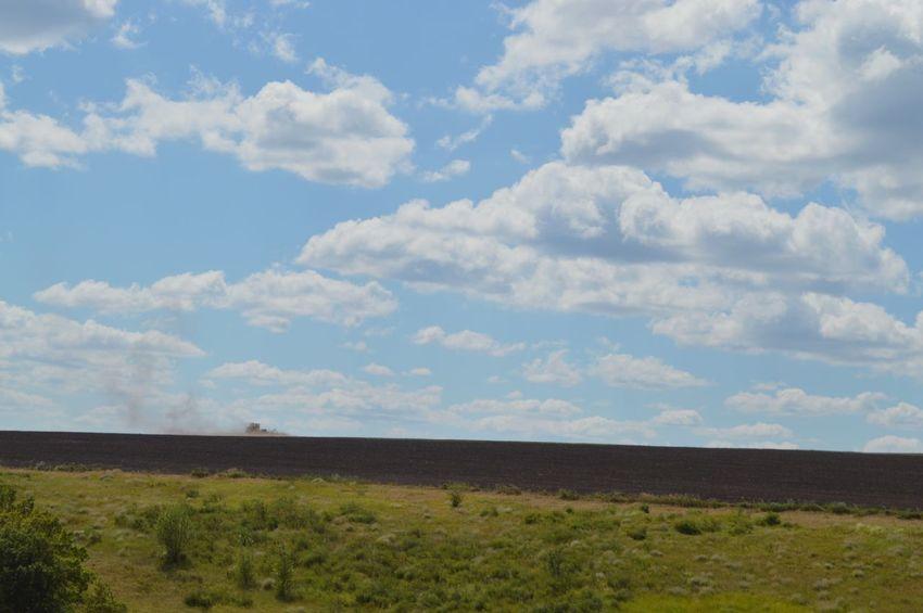 природароссии поля работавполе небо татарстан татарская земля