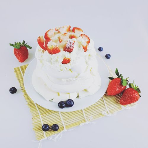 Cake for today Sweet Food Strawberry Fruit Cake Dessert Berry Fruit Blueberry Food And Drink Freshness Portable Information Device Food Homemade Berry Baked Raspberry Summer No People Studio Shot
