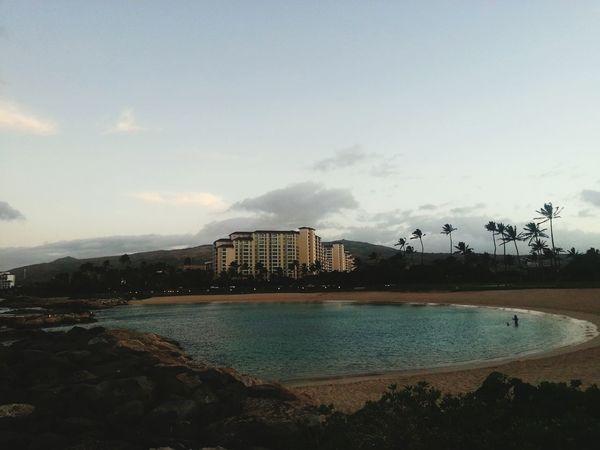 Hello World Aloha World Lagoon Ko Olina Enjoying Life