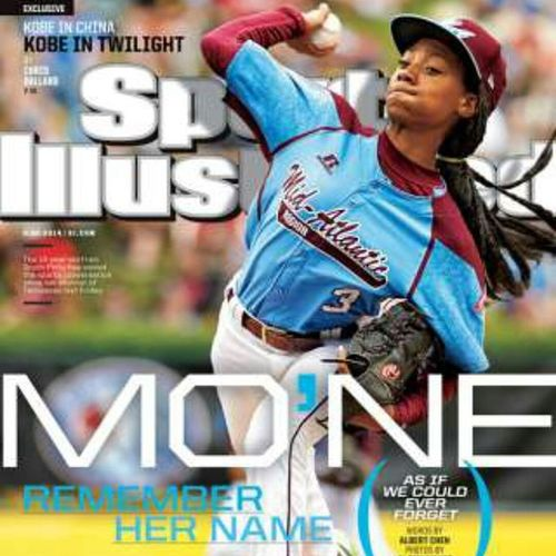 Talk About Blowin' Up... Now MoNeDavis Is On The Cover Of The NEW SportsIllustrated ... Do Ya' Thing Girl!!! ProudOfHerAndTheTeam TaneyDragons