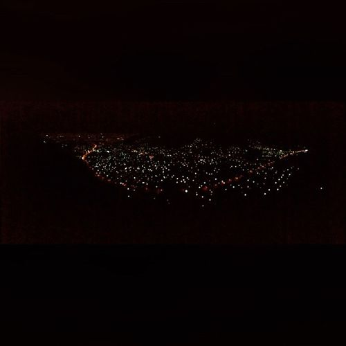 Paisajes hermosos de mi país El Salvador LosPlanes NocheHermosa 🌑🌠🌌⭐️🌙